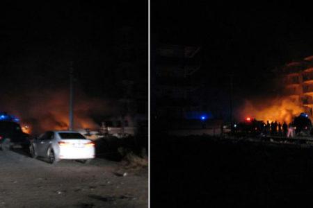 Viranşehir'de hakim ve savcı lojmanlarının yakınında patlama: Ölü ve yaralılar var
