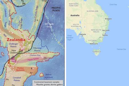 Avustralyalı bilim adamları yedinci kıtayı buldu