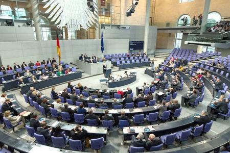Almaya Federal Meclis'inde nazi partisiyle yeni dönem