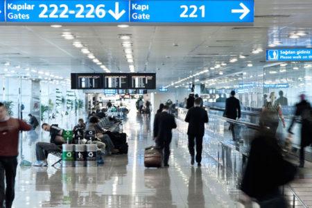 Almanya'dan Türkiye'ye uçanların sayısı yüzde 9.1 oranında düştü