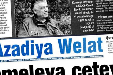 Azadiya Welat gazetesi İmtiyaz Sahibi gözaltına alındı