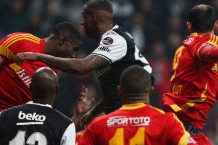 Lider'e Sergen Yalçın çelmesi: Beşiktaş 2-2 Kayserispor