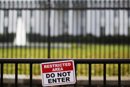 Beyaz Saray'da bomba paniği!