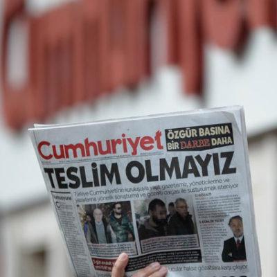 Cumhuriyet iddianamesi: Kadri Gürsel sanık, Hüseyin Gülerce tanık