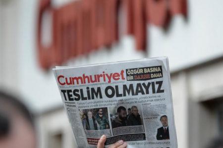 Cumhuriyet Gazetesi iddianamesi kabul edildi, ilk duruşma 24 Temmuz'da