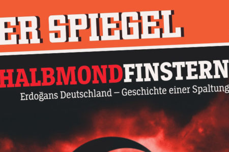 Erdoğan, Der Spiegel'in kapağında: Bir bölünme hikayesi