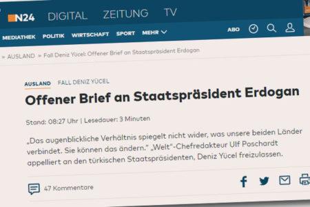 Die Welt Genel Yayın Yönetmeni Erdoğan'a 'Rahman Suresi'ni hatırlattı