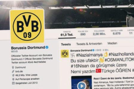 Dortmund'un twitter hesabına hacker saldırısı: Erdoğan'ın Davos görüntüleri paylaşıldı
