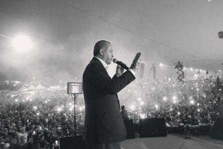 Erdoğan'ın mitingi ses kısıklığı nedeniyle iptal edildi