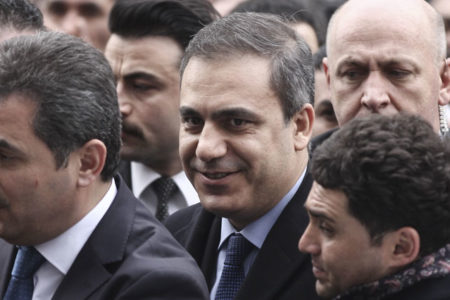 Hakan Fidan 15 Temmuz gecesi Suriyeli muhalifle berabermiş