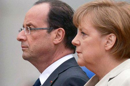 """Hollande ve Merkel'den """"Nazi"""" tepkisi: Kabul edilemez!"""
