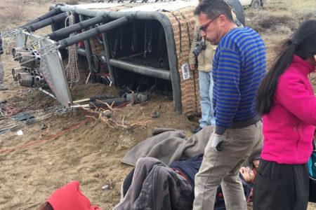 Kapadokya'da balon faciası: 41 kişi yaralandı
