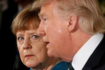 Merkel ve May'den Trump'ın Suriye operasyonuna destek
