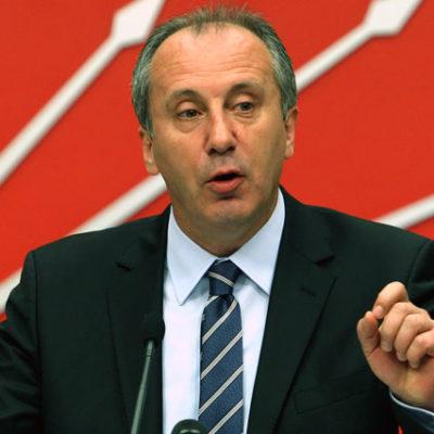 Muharrem İnce, CHP genel başkanlığına adaylığını açıkladı