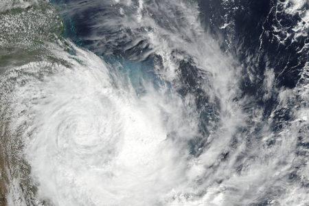 NASA, Debbie Kasırgası'nı uzaydan böyle görüntüledi