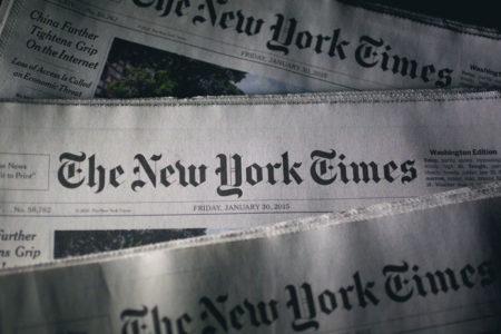 """NYT: """"Türkiye'den bir haber: Bir millet baskı altında"""""""