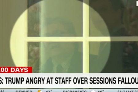 Oval Ofis'te kriz: Trump sağ koluyla tartıştı, CNN kameraları yakaladı