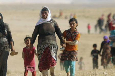 Rojava'da yaşayan 66 bin kişi göçe maruz kaldı