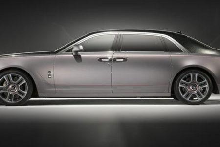Elmas kaplamalı Rolls Royce görücüye çıktı