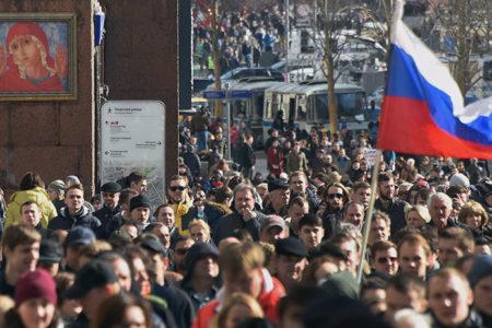 Rusya'da yolsuzluk karşıtı gösteriler: 700 kişi gözaltına alındı, muhalif lider tutuklandı