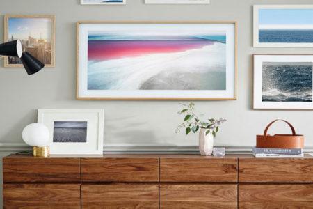 Samsung'tan 'çerçeve' televizyon