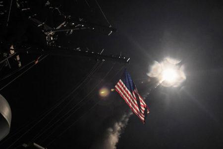 ABD'nin Suriye'yi vurduğu Tomahawk füzelerinin üreticisi Raytheon'un hisseleri değerlendi