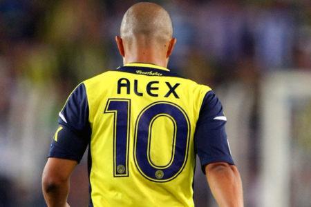 Alex de Souza: Ne diyebilirim ki Fenerbahçe için üzgünüm