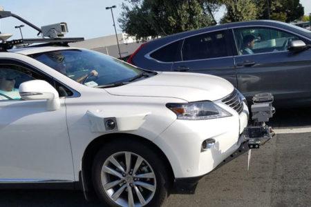 Apple'ın sır gibi sakladığı sürücüsüz test otomobili, ilk kez görüntülendi!