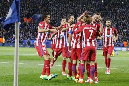 İlk yarı finalist Atletico Madrid