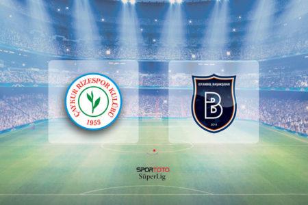 Rize'de 6 gol, 2 penaltı, 1 kırmızı: Çaykur Rizespor 3 – 3 İstanbul Başaksehir