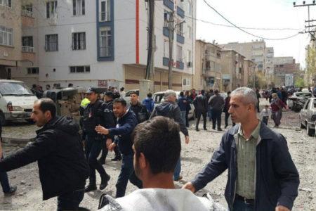 Diyarbakır'da patlama: 1 ölü, 4 yaralı