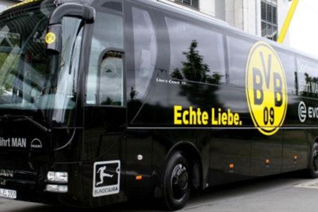 Şampiyonlar Ligi maçı öncesi Borussia Dortmund otobüsü yakınında patlama