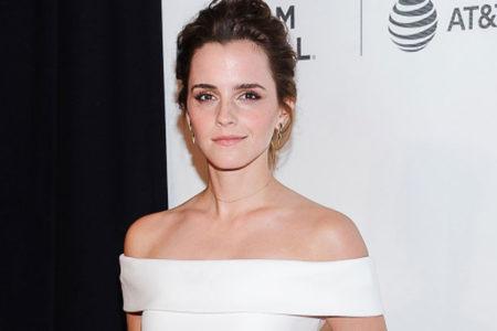 'Kırmızı halı'da Emma Watson şıklığı