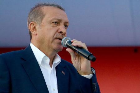 """Erdoğan: """"Bugün gazeteleri okudunuz mu, Sabah'ı, Takvim'i falan"""""""