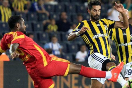 Fenerbahçe yarı final için sahada