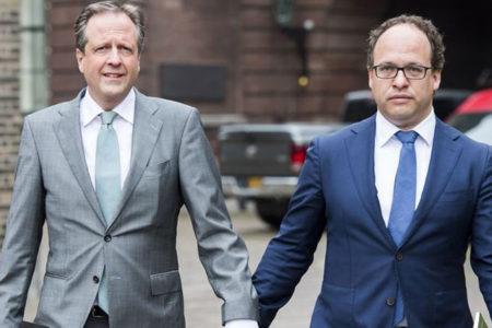 Hollanda'da 'eşcinsel çifte dayak' protestosu