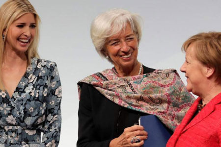 Ivanka Trump Almanya ziyaretinde yuhalandı