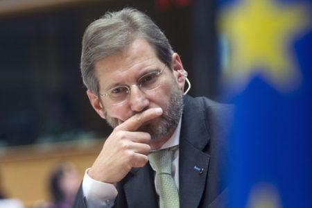 Avrupa Komisyonu'nun genişlemeden sorumlu üyesi Hahn: Türkiye'nin AB rüyası şimdilik bitti