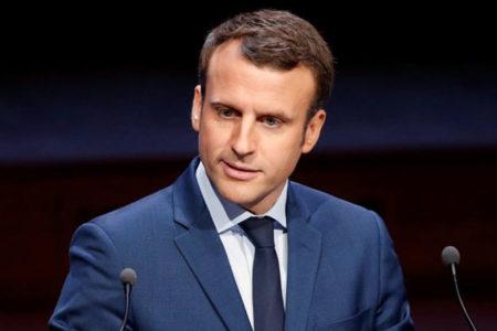 Macron kampanyasına Ermeni 'soykırımını' anarak başladı