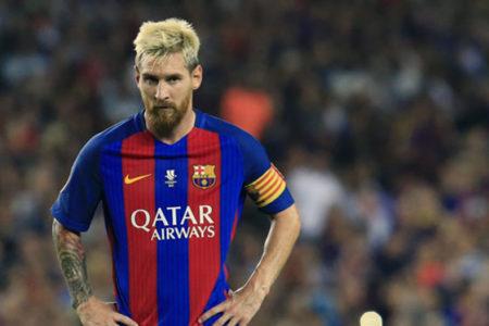 Barcelona, 15'lik Messi'nin görüntülerini paylaştı