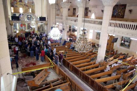 Mısır'da Hristiyanların kutsal günü kana bulandı: En az 45 kişi hayatını kaybetti