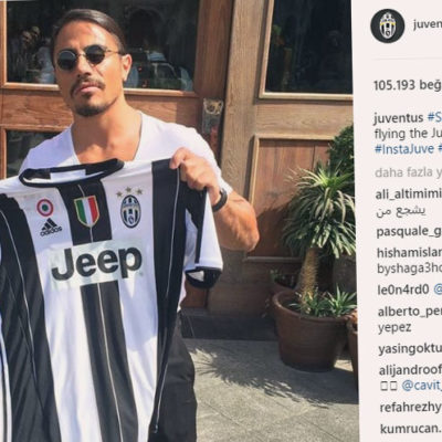 Juventus'tan Nusret paylaşımı