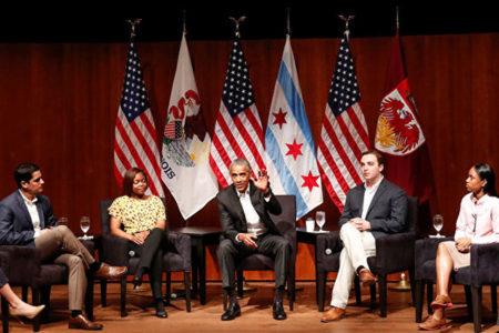 Obama üç ay sonra konuştu: Lise fotoğraflarıma sahip olsaydınız, başkan olamazdım