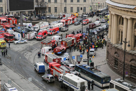 St. Petersburg'da terör saldırısı: Saldırgan Orta Asya kökenli, Suriye bağlantıları var
