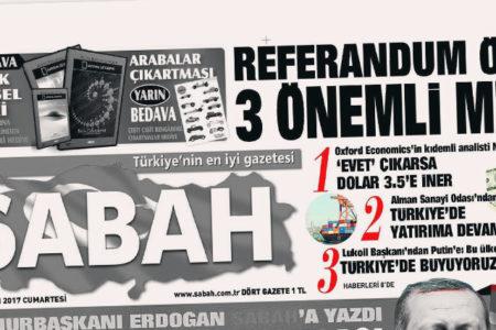 """""""Erdoğan yanlısı gibi görünen gazeteler, Cumhurbaşkanı'nı dün birinci sayfalarından yalanladı"""""""