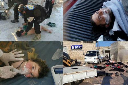 'Suriye'deki kimyasal saldırı görüntüleri, Türk televizyonu tarafından kaydedildi'