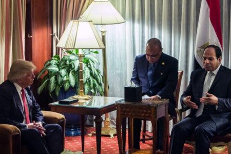 Trump: Sisi, çok zor koşullar altında harika işler yaptı
