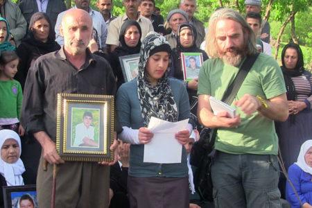 Ailelere destek amacıyla Uludere'ye yerleşen aktivist Yaylalı, 'Erdoğan'a hakaret'ten tutuklandı