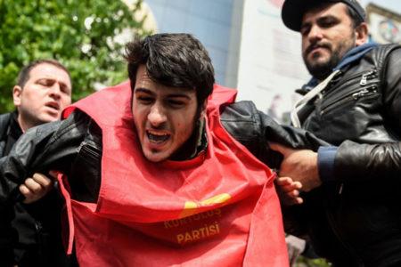 Beşiktaş, Taksim ve Gayrettepe'de 1 Mayıs müdahalesi