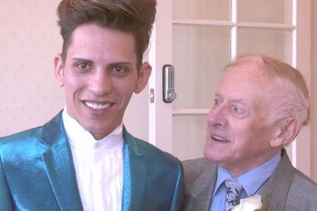 Kiliseyi bırakan 78 yaşındaki papaz, 24 yaşındaki sevgilisiyle evlendi